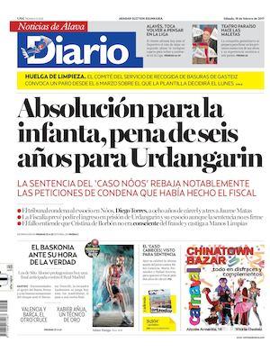 6309734caf44 Calaméo - Diario de Noticias de Álava 20170218