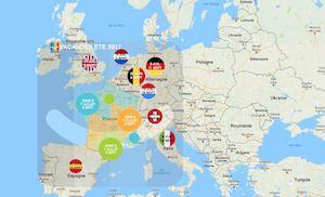 Carte Europe Vacances.Calameo Carte Vacances Europe Ete 2017