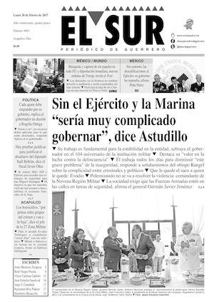 Calaméo - El Sur Lunes 20022017