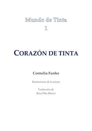 Calaméo - Funke Cornelia Corazon De Tinta
