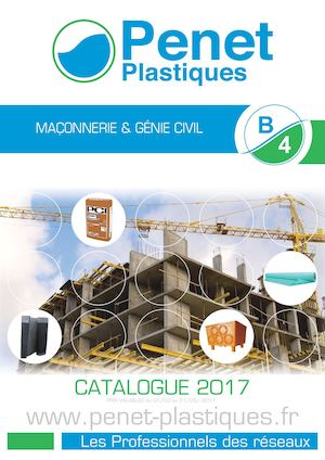 B4 - MACONNERIE & GENIE CIVIL - CATALOGUE MAI 2016