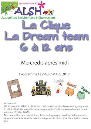 Calaméo Mercredi Février Mars La Clique Et Dream Team