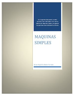 Maquina Simples 2