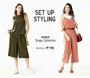 Spend Less Time Choosing Your Officewear From The Women Drape Collection At Uniqlo 90123
