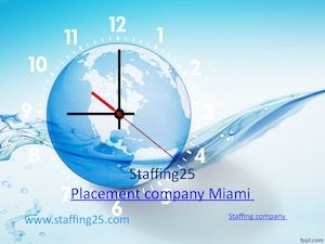 Consult a placement company Miami for the ideal job