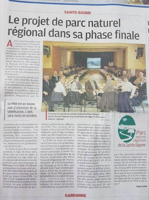 Article La Provence 14022017 Version Papier