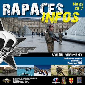 Rapaces infos Mars 2017