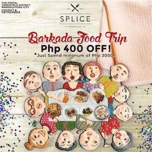 Enjoy P400 Off With Minimum Spend Of P2000 With The Barkada Food Trip At Splice Resto Bar 90134