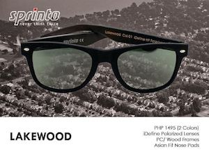 Get The Lakewood Eyewear With Idefine Polarized Lenses For Only P1495 From Sprinto 90145