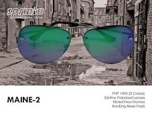 Never Go Out Of Style With This Classic Aviator Maine 2 From Sprinto 90146