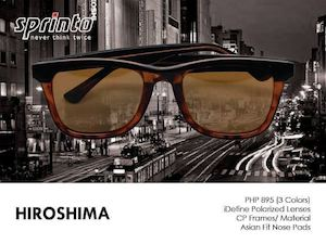 Look Sleek Classy With The Hiroshima Eyewear For Only P895 At Sarabia Optical 90148