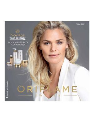Catalogue My Pham Oriflame 3 2017