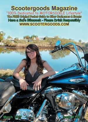 SCOOTERGOODS MAGAZINE March 2017 #155