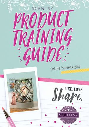 Scentsy product guide in english