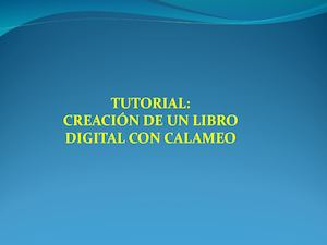 Tutorial Calameo 1