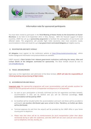 II- Sponsorship Note For Participants 3MSP