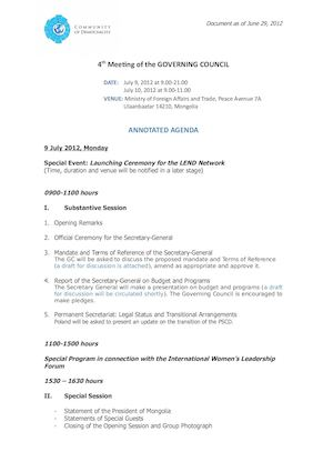 4th GC Meeting ANNOTATED AGENDA (June 29, 2012).