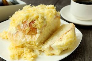 Try The Freshly Baked Super Cheesy Richmonde Ensaymada From Richmonde Hotel Ortigas 90157