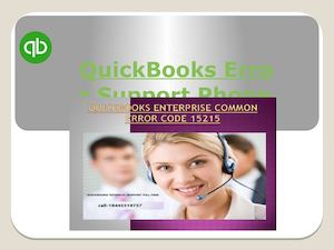 Quick Books Error Support Phone Number