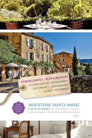 Guide d'hébergements et restaurants sur Moustiers-Sainte-Marie - 2017