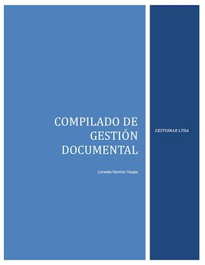 Compilado De Gestion Documental