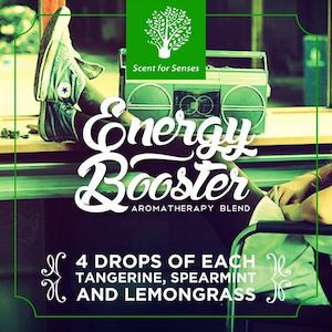 Try The Energy Booster Aromatherapy Blend Get Your Scents At Scent For Senses90179 90179
