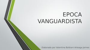 Epoca Vanguardista
