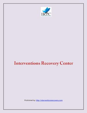 Interventions Recovery Center