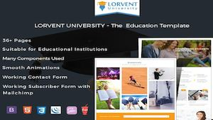 Latest Educational Responsive HTML5 Website Templates
