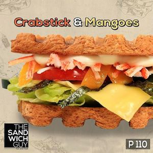 Reward Yourself With A Crabsticks Mangos Sandwich For P110 From The Sandwich Guy 90199