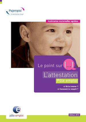 Le Point Sur L'attestation Pe