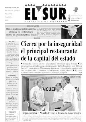 Calamo El Sur Viernes 03032017