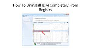 Remove idm completely Download + Paid Version