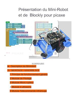 Presentation Du Mini Robot Et De Blockly 2017