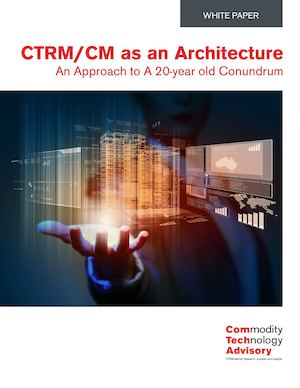 CTRM/CM as an Architecture – An Approach to A 20-year old Conundrum