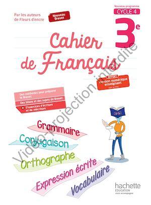3e Cycle >> Calaméo - Cahier de Français 3e - 2017