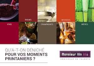 Monseur Vin Catalogue Mars 2017