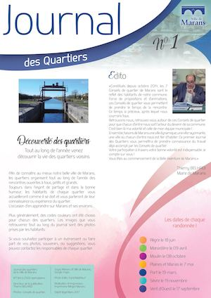 Journal Des Quartiers N°1