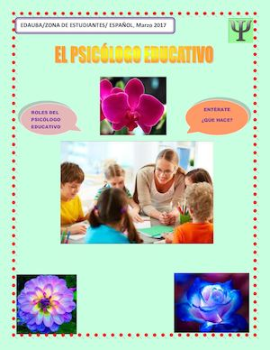 Revista Psicólogo Educativo