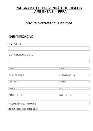 Documento Base Ppra Doc