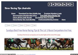 Sundays March 26th Free Horse Racing Tips