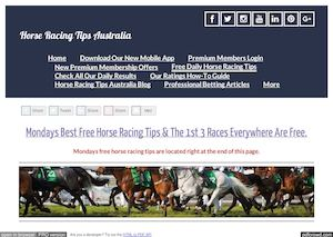 Mondays March 27th Free Horse Racing Tips