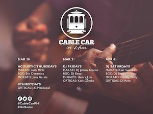 Heres What The Remaining Days Of March At Cable Car Has To Offer 90680