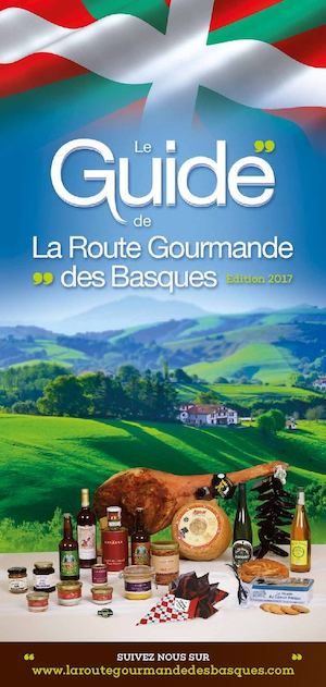 Guide de la Route Gourmande des Basques 2017