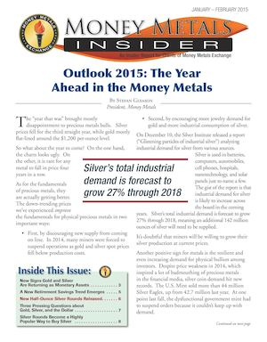 Outlook 2015: Money Metals Insider Jan-Feb 2015