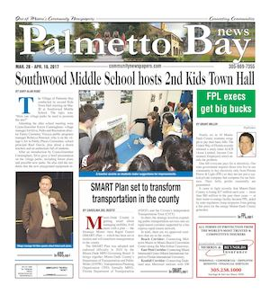 Palmetto Bay News 03.28.2017