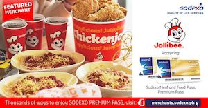 Nothing Beats A Big Bucket Of Chickenjoy With Your Sodexo Meal Pass At Jollibee 90702