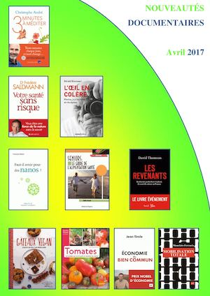 Avril 2017 Documentaires Adultes