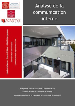 Acantys Groupe Analyse com interne