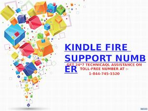 kindle fire support 1-844-745-1520